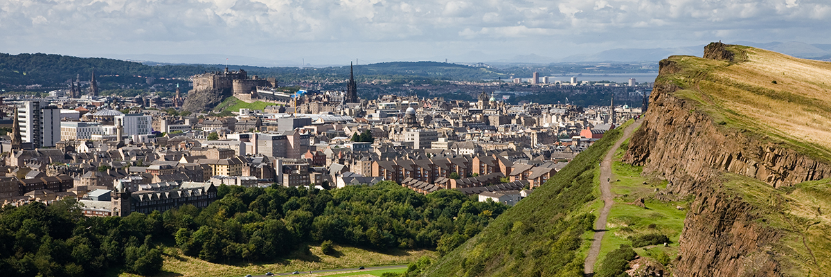 Experience extraordinary views from Arthur's Seat