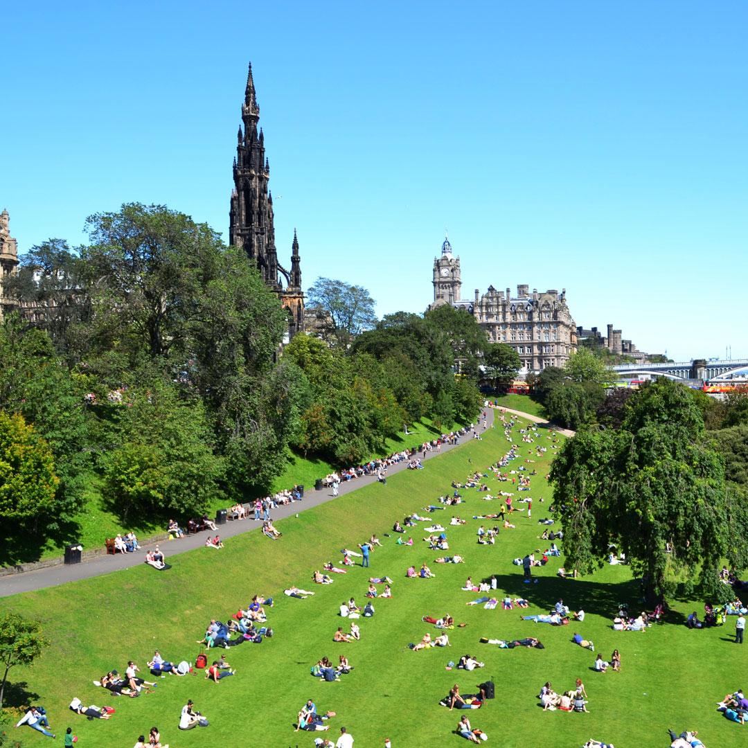 Summer in Edinburgh