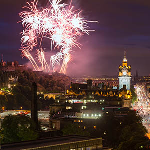Spending Hogmanay in Edinburgh